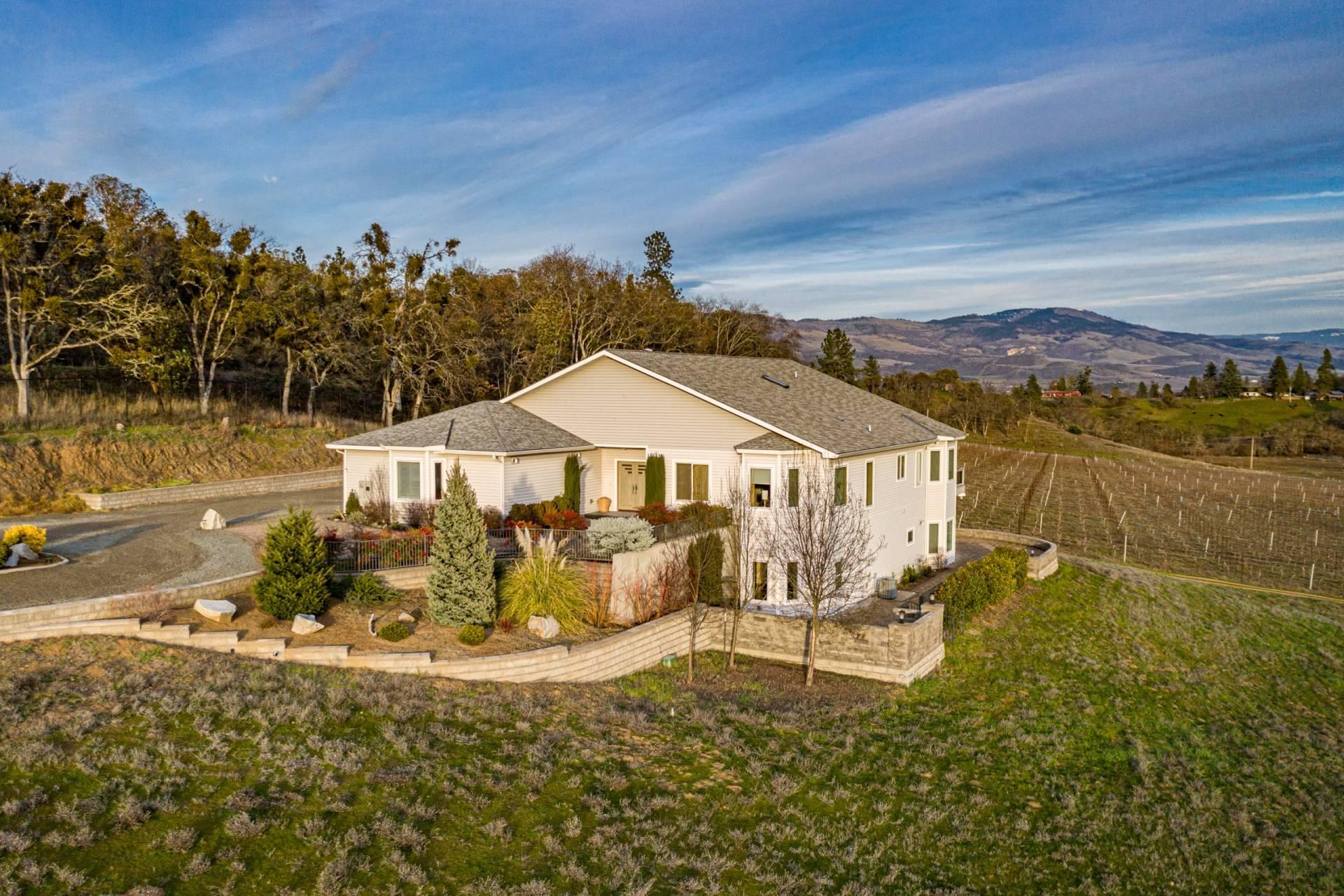Pioneer Road Vineyard Estate, OR