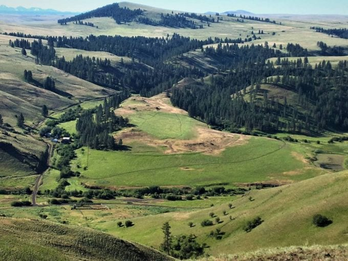 Chesnimnus Creek Ranch Joseph Oregon