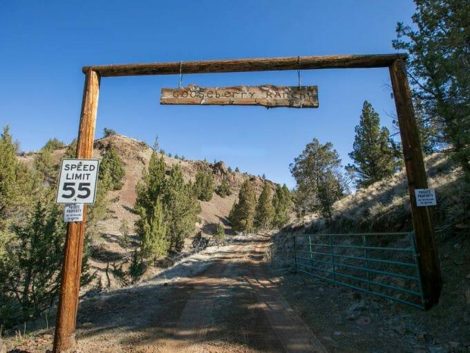 Gooseberry Ranch Ashwood Oregon